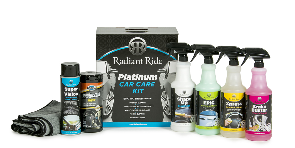 Platinum Kit for cosmetic car care