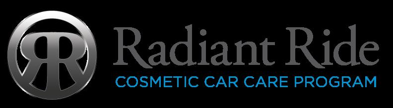 Logo for Radiant Ride Cosmetic Car Care Program