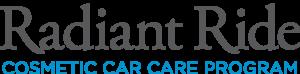 Radiant Ride Cosmetic Car Care Program.
